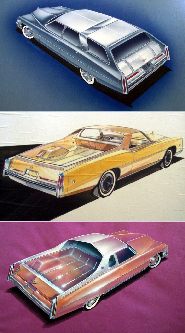 History Fo The Cadillac Mirage